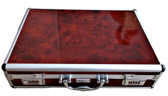 FRICO Bestekset - 72-delig - Luxe Opbergkoffer - FR-2233-D - FRICO