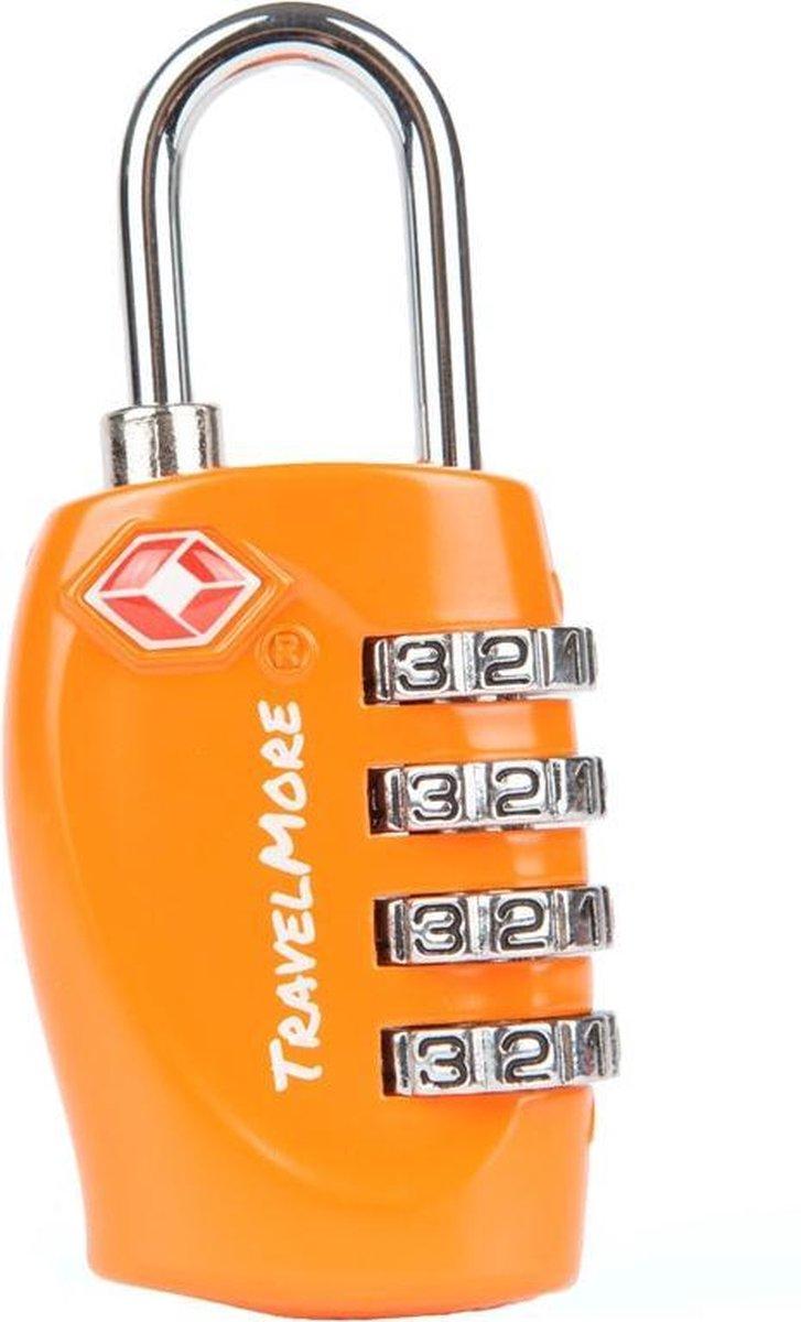 TravelMore TSA Kofferslot 4 Cijferig - Reisslot   Reis Cijferslot   Bagageslotjes   Slot voor Bagage