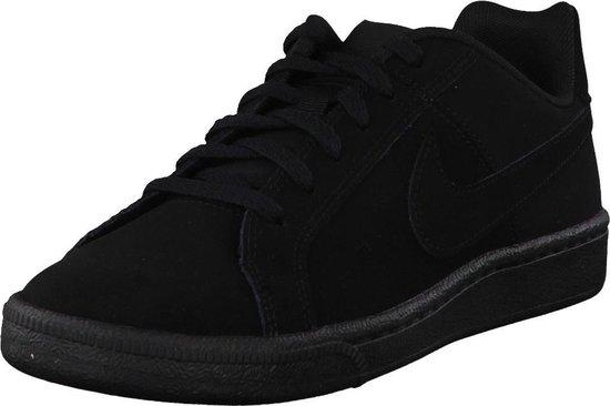 Nike Court Royale (GS) Sneakers Junior Sportschoenen - Maat 38.5 - Unisex - zwart