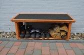 Schoen- en laarzenrek voor buiten - Bruin