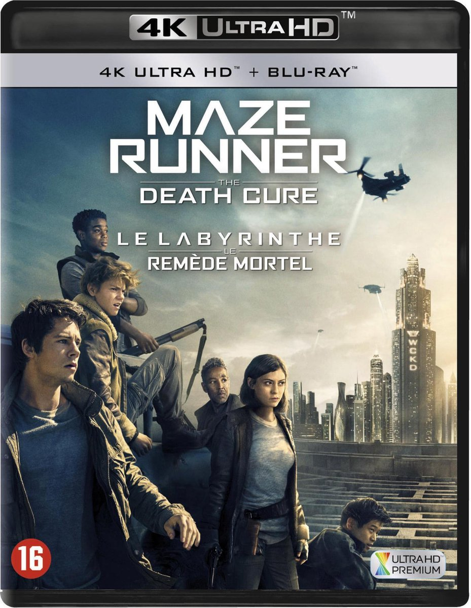 Maze Runner: The Death Cure (4K Ultra HD Blu-ray)