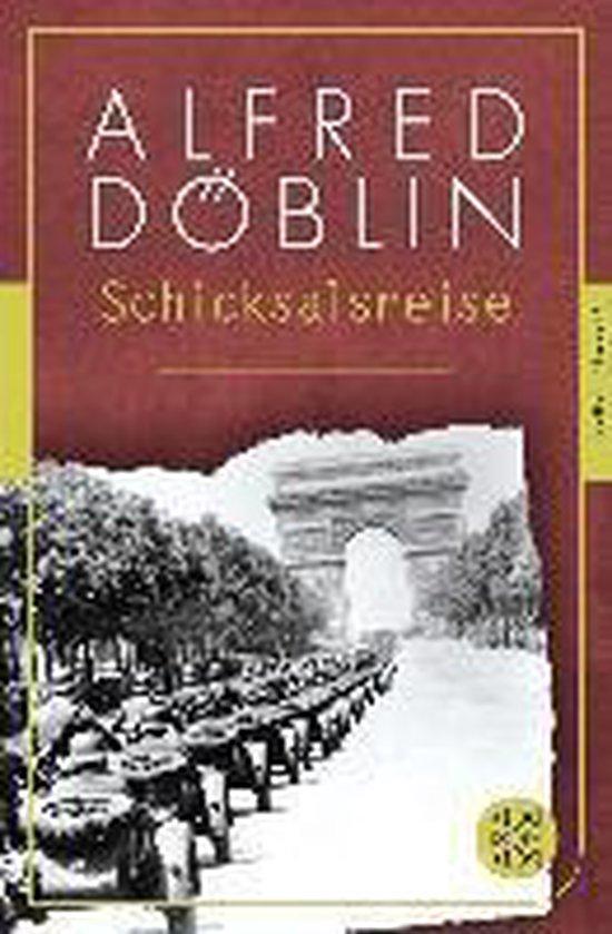 Boek cover Schicksalsreise van Alfred Döblin (Paperback)