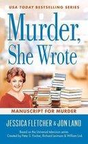 Omslag Murder, She Wrote: Manuscript For Murder