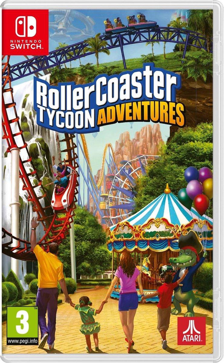 RollerCoaster Tycoon Adventures - Nintendo Switch