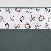 Meyco ledikant Laken Animal - 100 x 150 cm - Wit