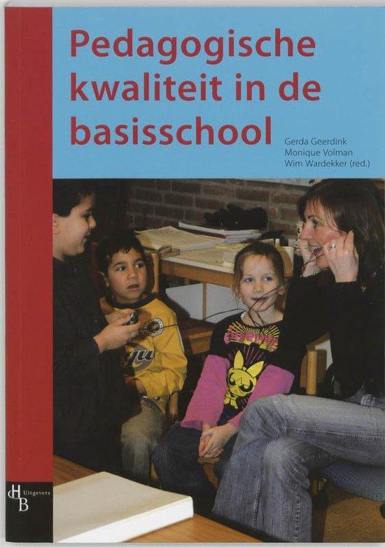 Pedagogische kwaliteit in de basisschool - Onbekend |