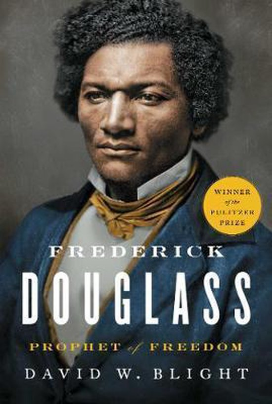 Boek cover Frederick Douglass van David W. Blight (Hardcover)