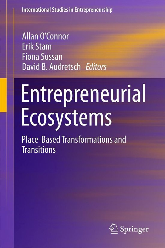 Boek cover Entrepreneurial Ecosystems van  (Onbekend)