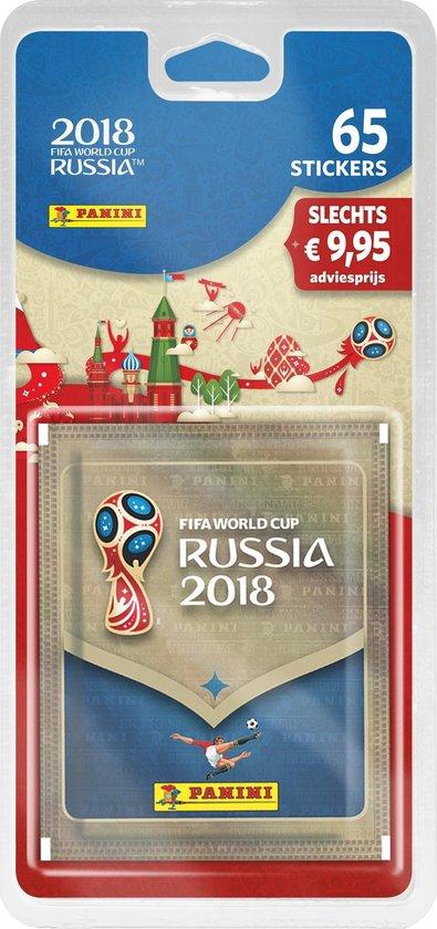 Panini FIFA WK Rusland 2018 - 65 voetbalstickers - Panini S.P.A