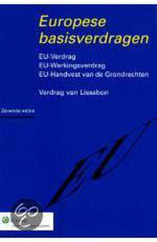 Europese basisverdragen - none  