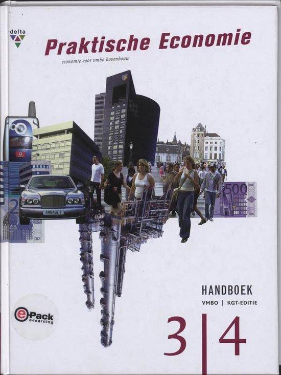 Praktische economie 3/4 vmbo-kgt handboek - P. Adriaansen |