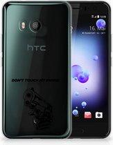 HTC U11 TPU-siliconen Hoesje Gun DTMP