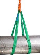 Rema rondstrop groen - S5-PE 2000kg - 1 meter