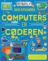 Afbeelding van het spelletje Kinderboeken Kinderboek Feit en spel. Computers en coderen (300 stickers)