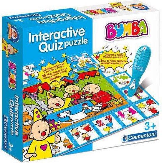 Bumba Interactieve Quiz Puzzel