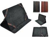 """""""Mpman Tablet Mp720 Cover  , Sjieke Premium Hoes , Kleur Zwart"""""""