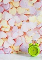 Wallpaper Queen hartsnoepjes