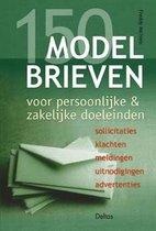 Boek cover 150 modelbrieven voor persoonlijke & zakelijke doeleinden van Freddy Michiels