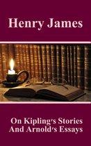 Omslag On Kiplings Stories And Arnolds Essays