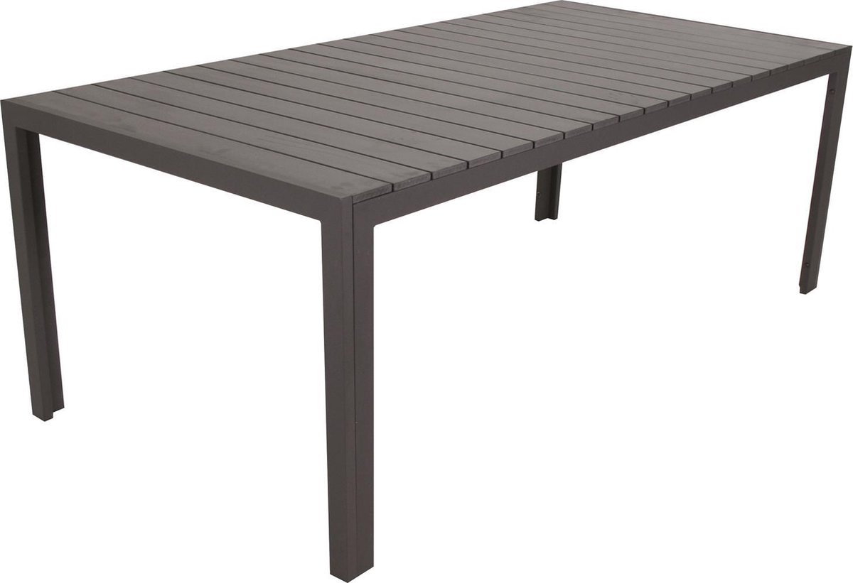 SenS line Jersey Polywood tafel 200cm grijs