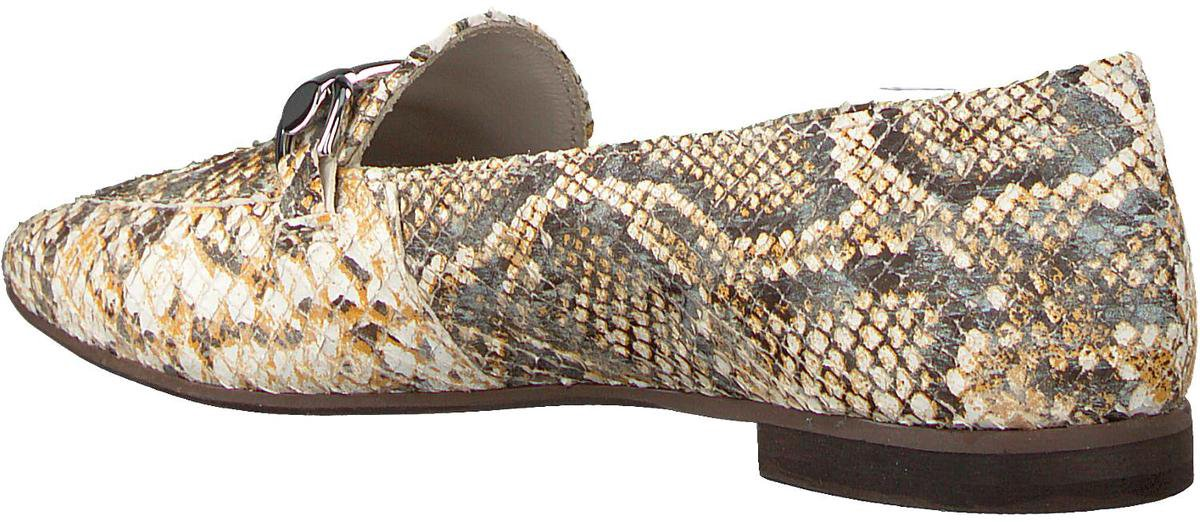 Omoda Dames Loafers 191/722 Boot - Geel - Maat 40 Instappers