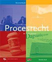 Boek cover Procesrecht van Lydia Janssen