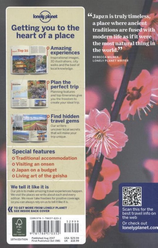 Lonely Planet Japan - Chris Rowthorn