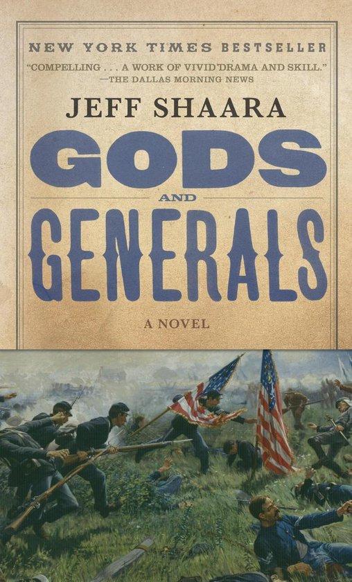 Boek cover Gods and Generals van Jeff Shaara (Paperback)