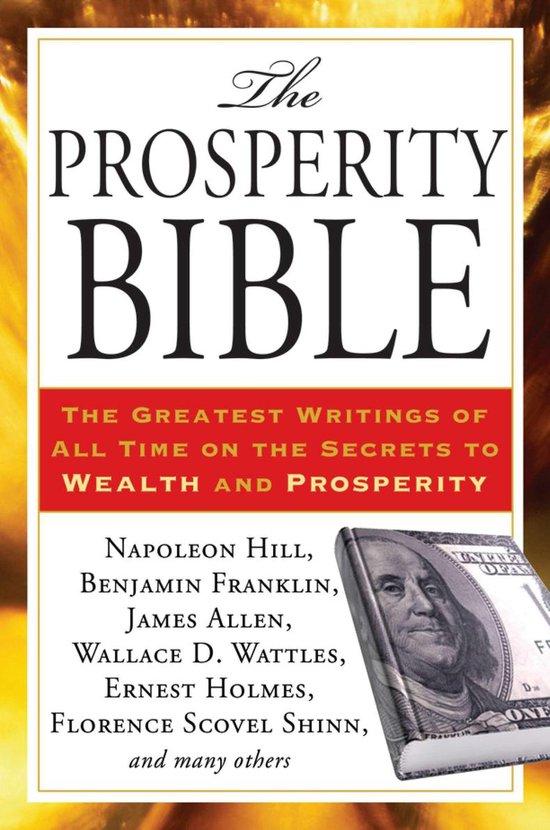 Boek cover Prosperity Bible van Napolean Hill (Paperback)