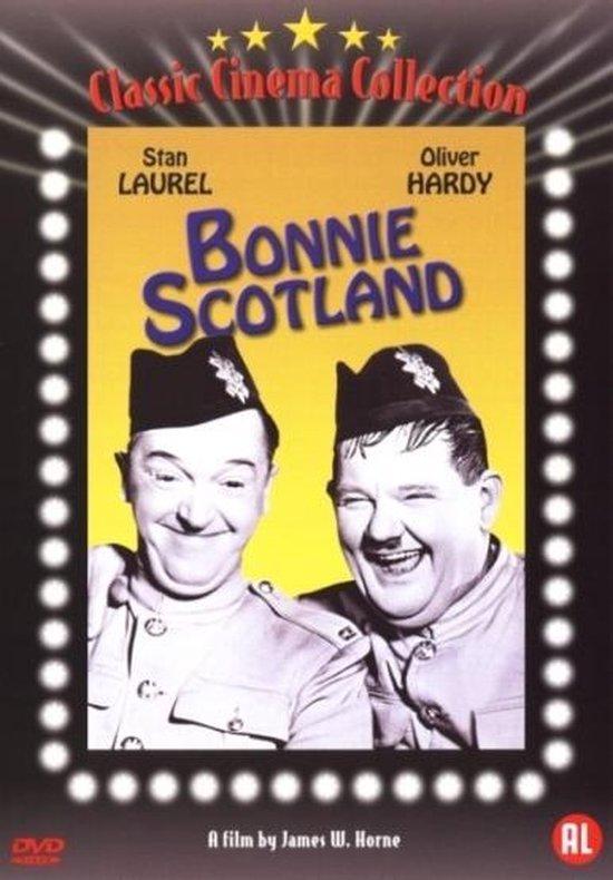 Cover van de film 'Laurel & Hardy - Bonnie Scotland'