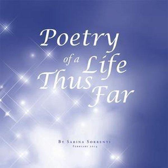 Omslag van Poetry of a Life Thus Far