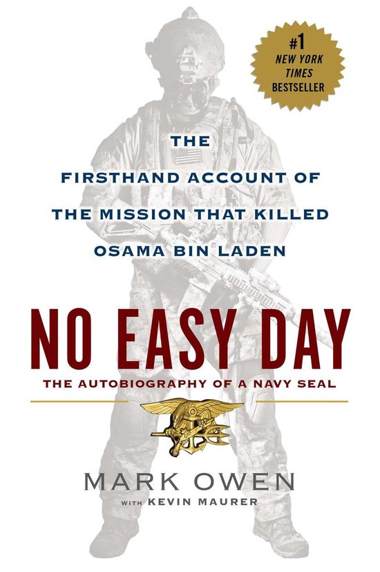Boek cover No Easy Day van Mark Owen (Paperback)