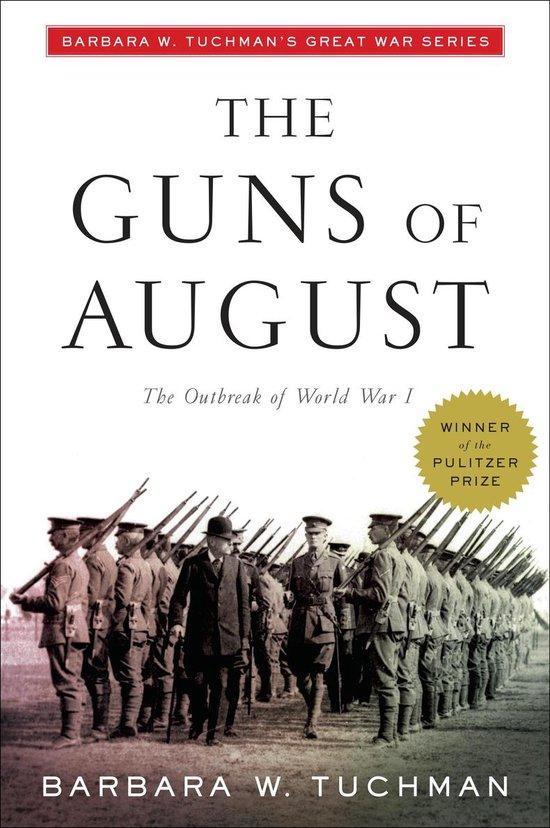Boek cover Guns of August van Barbara W. Tuchman (Paperback)