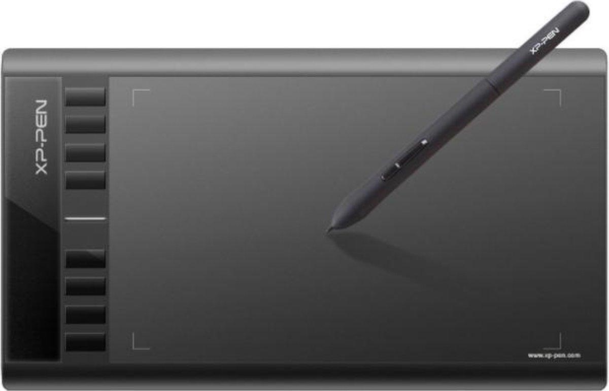 XP-Pen Star03 – Grote Tekentablet – USB – Zwart