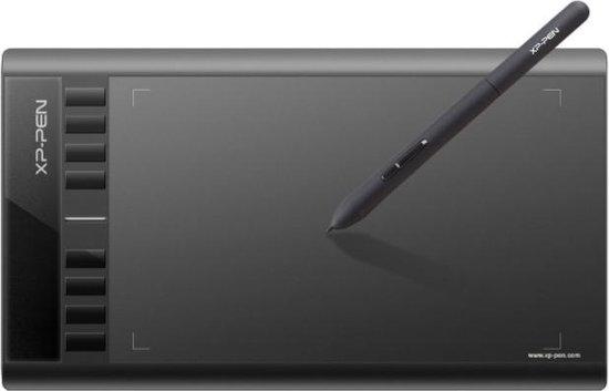 XP-Pen Star03 PRO - Grote Tekentablet - USB - Zwart