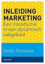 Boek cover Inleiding marketing van Stefan Renkema