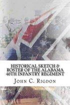 Historical Sketch & Roster of the Alabama 40th Infantry Regiment