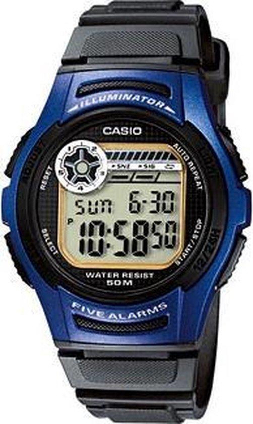 Casio W-213-2AVES – Horloge – 40 mm – Kunststof