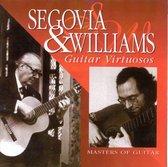 John Williams & Andrés Segovia Play Bach Suite & Recital: The Art of Guitar