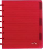 Atoma schrift gelijnd -18x21cm (A5+) - 90 g/m2 - 120 bladzijden (60 vel) - 6 tabbladen