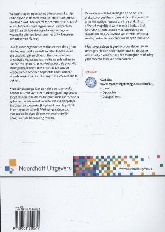Marketingstrategie - Ruud t. Frambach |