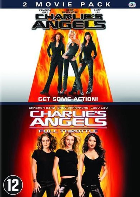 Cover van de film 'Charlies Angels 1 & 2'