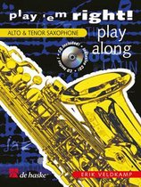 Saxofoon Play'em right - play along