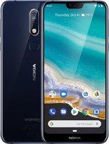 Nokia 7.1 - 32GB - Single SIM - Blauw