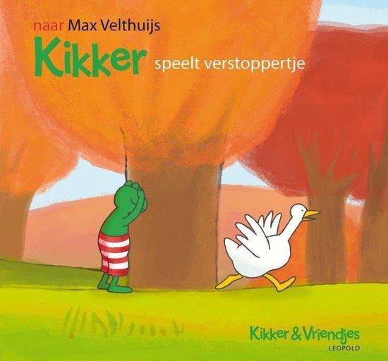 Kikker & Vriendjes - Kikker speelt verstoppertje - Max Velthuijs |
