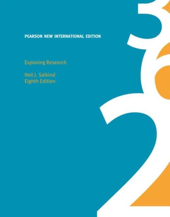 Exploring Research: Pearson  International Edition