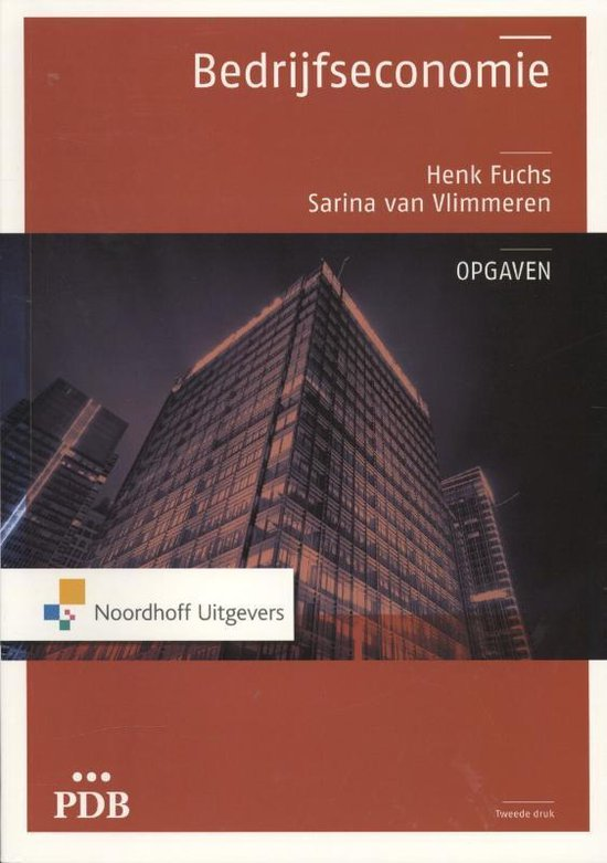 PDB Bedrijfseconomie - opgaven - Henk Fuchs pdf epub