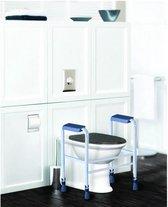 Aidapt toiletframe hoogte verstelbaar - vrijstaand