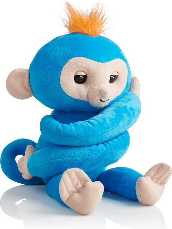 WoWee - Fingerlings HUGS Boris - Interactieve knuffel 40 cm