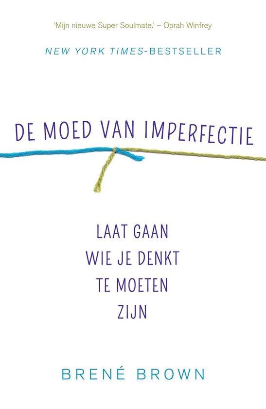 Boek cover De moed van imperfectie van Brené Brown (Paperback)